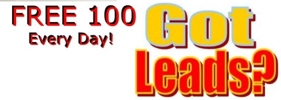 100 free leads